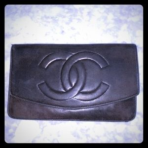 Vintage Chanel Flap Wallet/Small Clutch